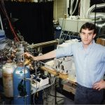 Kermit Murray in Dave Russell's lab at Texas A&M University 1993