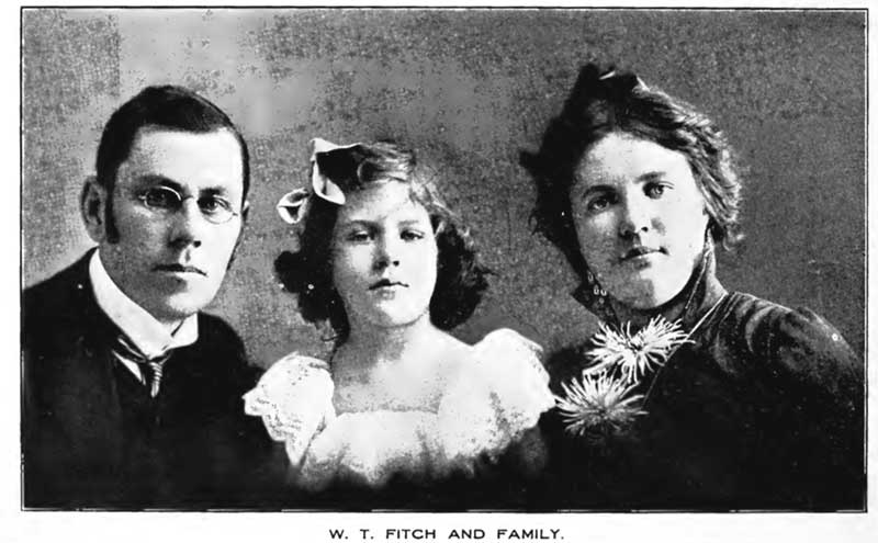 W. T. Fitch and Family