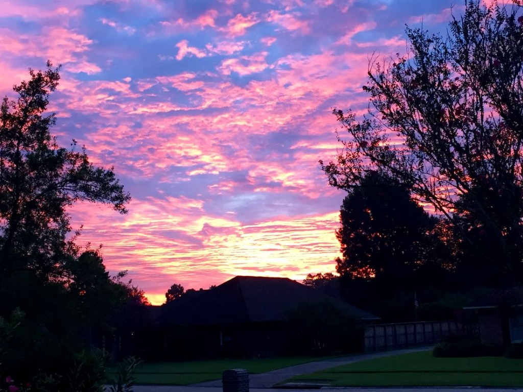 Sunrise in Baton Rouge, September 2015