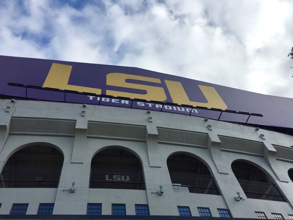 LSU Tiger Stadium at North Stadium Drive, February 2017