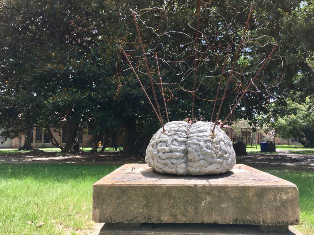 LSU Sculpture Garden Brain