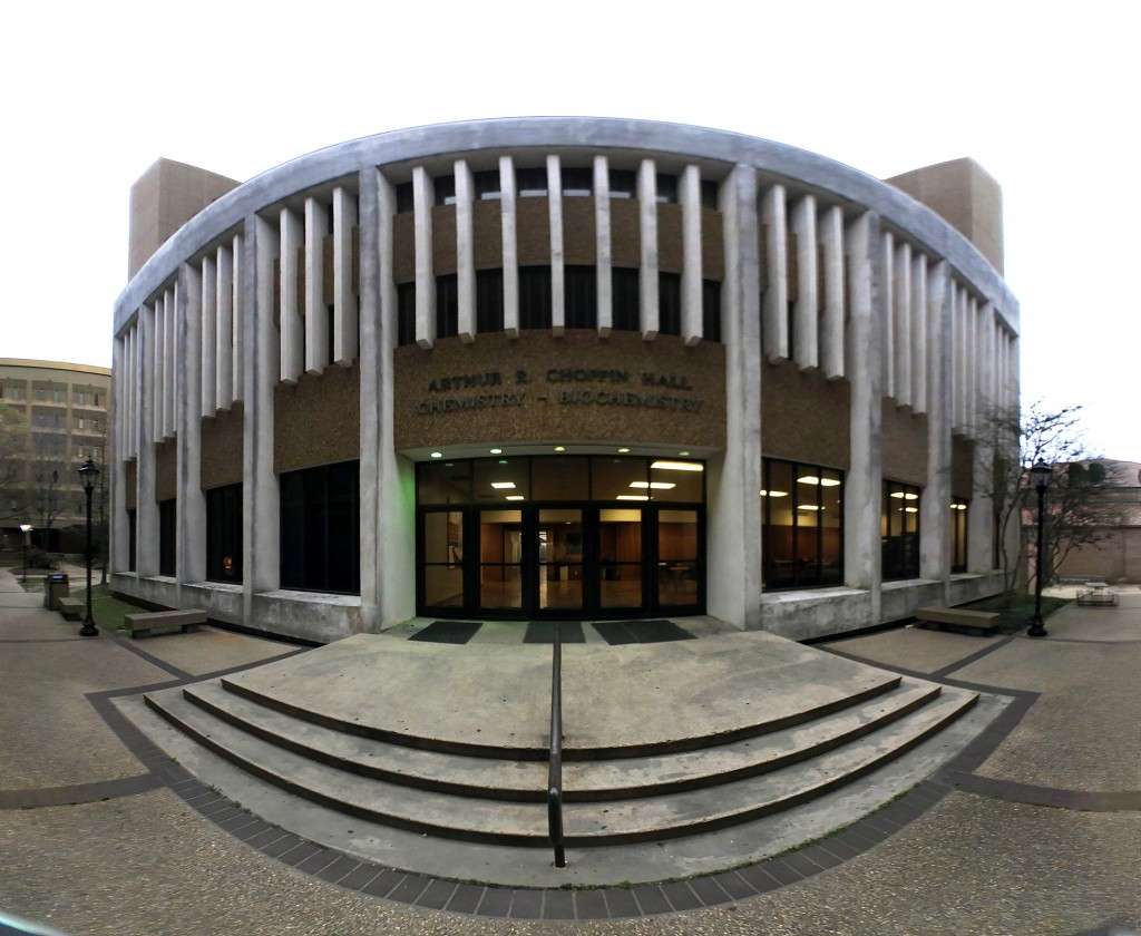 LSU Choppin Hall fisheye